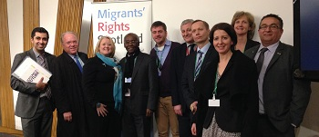 Migrant Voice - MSPs listen to Migrant Voices on OURDAY2013