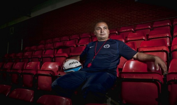 Migrant Voice - Mahdi Bahrami – Football Coach, Glasgow