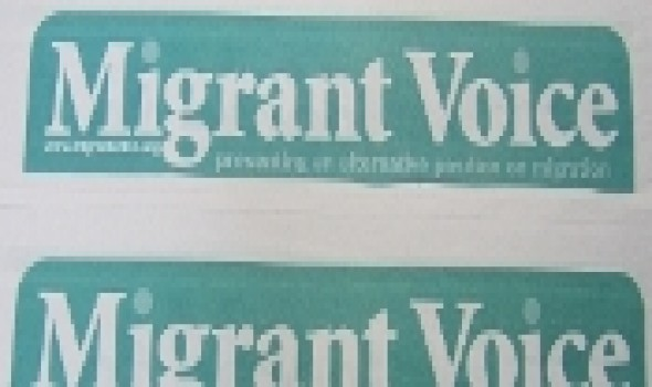 Migrant Voice - Migrant Voice 2012 launched