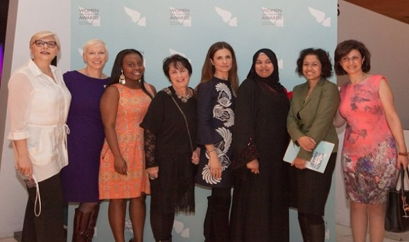 Migrant Voice - At the Women on the Move Awards 2015