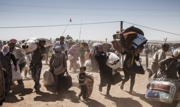 Migrant Voice - Give Refuge to Syrian Refugees