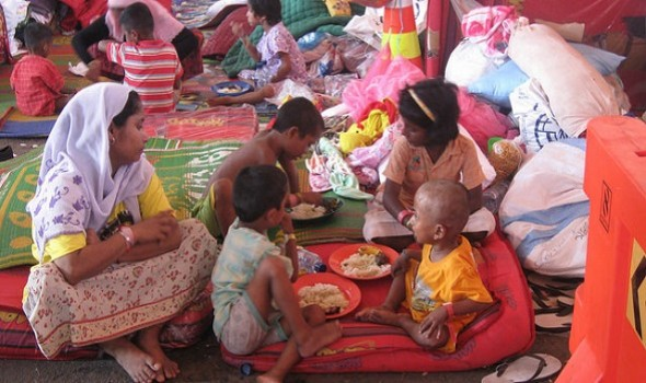 Migrant Voice - Rohingya Refugees receive compassion in Aceh