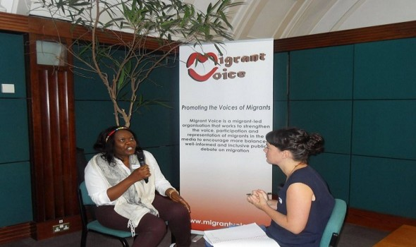 Migrant Voice - Pioneering new initiative launched