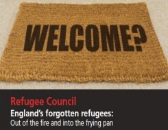 Migrant Voice - face hunger and homelessness