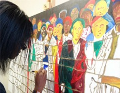 Migrant Voice - A migrant artist's new perspective on victims of conflict