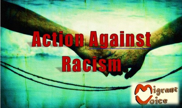 Migrant Voice - Action Against Racism - 20th July -  London