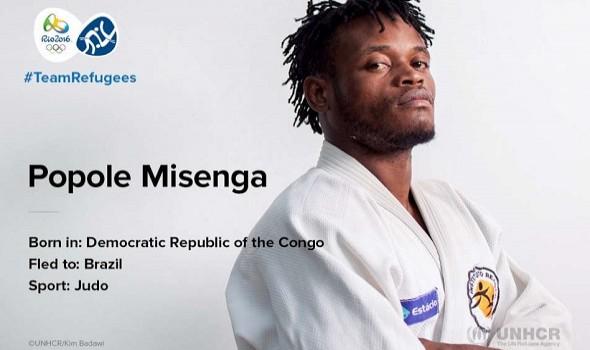 Migrant Voice - Rio Olympics, Team Refugee