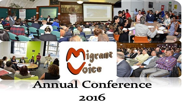 Migrant Voice - Annual Conference -London - 25th November