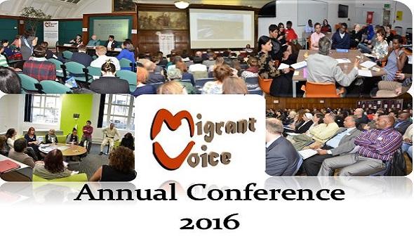 Migrant Voice - Annual London Conference - 25th November