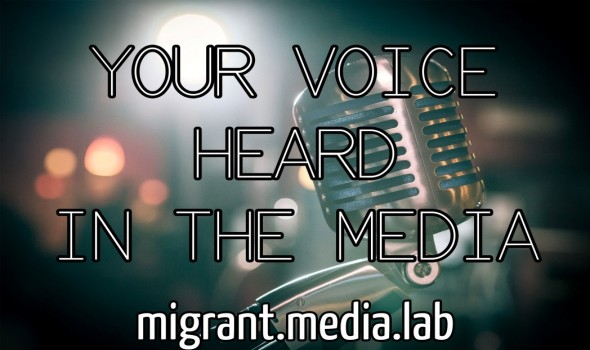 Migrant Voice - Media Lab Masterclass 15th November