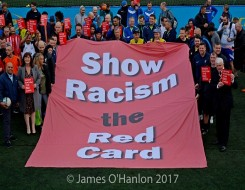 Migrant Voice - Show Racism the Red Card launch annual magazine