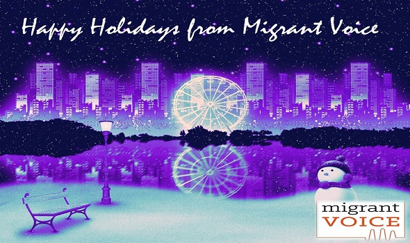 Migrant Voice - Merry Christmas and a Happy New Year