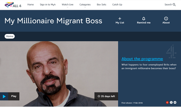 Migrant Voice - ... and the unemployed Brits who tried working in his hotel