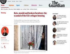 Migrant Voice - Guardian article on asylum housing