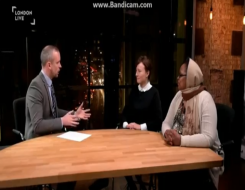 Migrant Voice - London Live interview for IMD