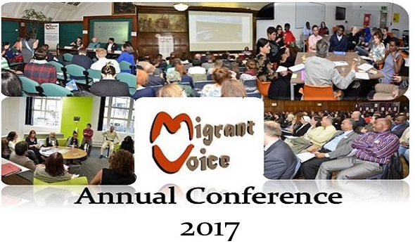 Migrant Voice - Migrants and Migration Post Brexit London conference - 25 November 2016