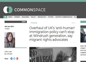 Migrant Voice - Commentary on Commonspace