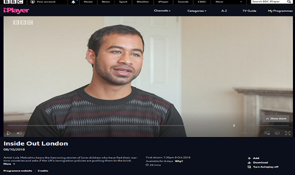 Migrant Voice - MV member Nas Popalzai on BBC Inside Out London