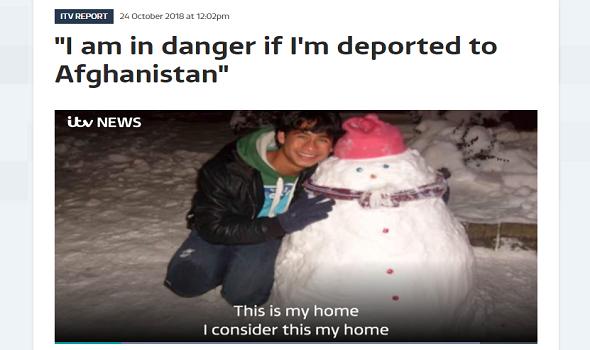 Migrant Voice - MV member Nas Popalzai speaks to ITV Central