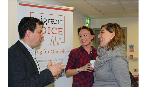 Migrant Voice - Dozens attend Migrant Voice launch of integration project
