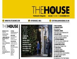 Migrant Voice - 'My Future Back' campaign featured in The House magazine