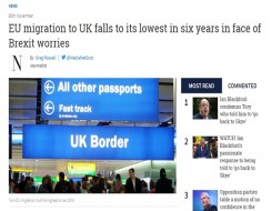 Migrant Voice - Nazek Ramadan comments on migration statistics in The National