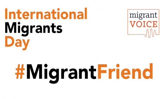 Migrant Voice - Celebrate migrant friendships on International Migrants Day
