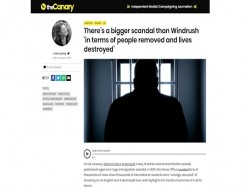 Migrant Voice - The Canary reports on international student campaign