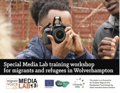 Migrant Voice - Media Lab in Wolverhampton