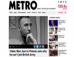 Migrant Voice - Video about MV member published by Metro UK