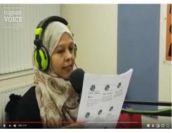 Migrant Voice - MV member shares her poetry on Birmingham local radio
