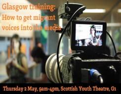 Migrant Voice - Media training day in Glasgow