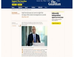 Migrant Voice - The Guardian publishes opinion piece about students' call for justice