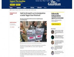 Migrant Voice - The Guardian reports on international students campaign