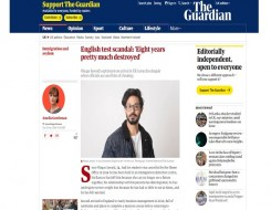 Migrant Voice - The Guardian publishes a profile of one of the international students in our campaign