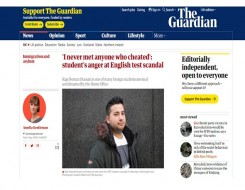 Migrant Voice - MV member speaks to the Guardian's Amelia Gentleman