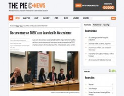 Migrant Voice - PIE News reports on launch of 'Inquisition'