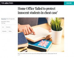 Migrant Voice - Media coverage of National Audit Office report on Home Office and international students