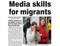 Migrant Voice - Express & Star reports on upcoming MV Media Lab