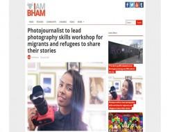 Migrant Voice - Birmingham news site reports on upcoming Media Lab