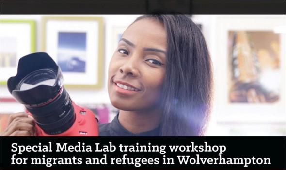 Migrant Voice - Media Lab in Wolverhampton