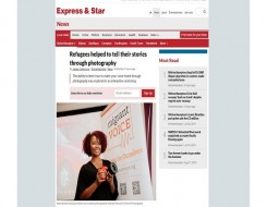 Migrant Voice - Express & Star reports on Wolverhampton Media Lab