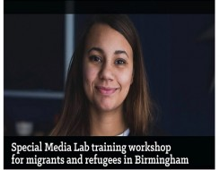 Migrant Voice - Media Lab in Birmingham