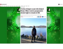 Migrant Voice - Independent tells story of MV member betrayed by Home Office