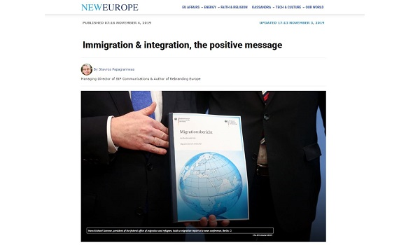 Migrant Voice - New Europe article features MV's Feel at Home project
