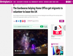 Migrant Voice - MV Director quoted in article about voluntary returns