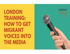 Migrant Voice - Media training day in London