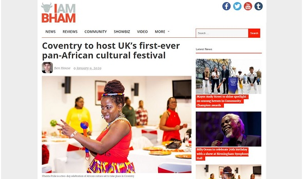 Migrant Voice - MV in article about cultural festival in Coventry
