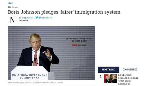 Migrant Voice - MV Director quoted in article on points-based system