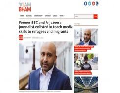 Migrant Voice - Media Lab trailed on Birmingham news site